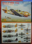 Bloch MB-152  (Vichy,GB,D) , RS Models, 1/72