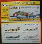 Aero L-29 Delfin (Doppelpack,Foreign Users) 1/144