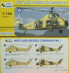 Westland Wessex Commando MK.1, Mark I.,1/144