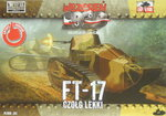 FT-17 MG-Version, Eckiger Turm, First To Fight, 1/72