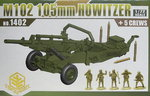 105-mm-Haubitze M102 with Crew, Toxso,1/72