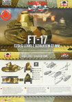 FT-17 Kanonen-Version, Runder Turm, First To Fight, 1/72