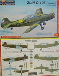 Zlin Z-126 (Trener 2) Early Version, Kovosavody Prostejov, 1/72, Military, New
