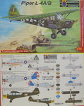 Piper L-4 A/B , KP, 1/72 , New Tool, US Kriegsversion