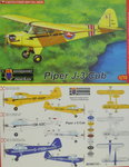 Piper J-3 Cub , KP, 1/72 , New Tool, Zivil