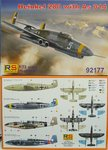 Heinkel He-280 mit AS 014, RS Models, 1/72
