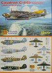 Caudron C-445 Goeland Luftwaffe and Slovak, RS Models, 1/72