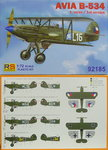 Avia B-534 first version, RS Models, 1/72