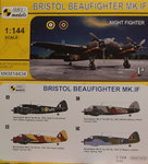 Bristol Beaufighter Mk.IF, Night Fighter, Mark 1, 1:144,  NEW