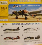 Bristol Beaufighter Mk.IC, Coastal Patrol, Mark 1, 1:144,   NEW