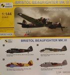 Bristol Beaufighter Mk.VI, Formidable Fighter, Mark 1, 1:144,  NEW