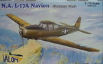 North.American L-17A Navion Korean War ,1/72, Valom