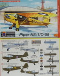Piper NE-1/O-59  , KP, 1/72 , New Tool,