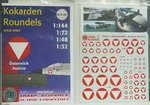 Austrian Airforce all scales, decals sheet, 1/144, 1/72, 1/48, 1/32