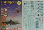 F-5E Austria,Swiss, Decal Sheet, 1/72, IPMS Austria
