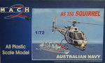 Eurocopter AS-350 Squirrel, Australian Navy, 1/72, Mach 2