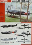 "Messerschmitt Bf-109 G-6 AS ""Special Markings"", AZ Model, 1/72,"