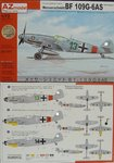 Messerschmitt Bf-109 G-6 AS  Altitude Fighter , AZ Model, 1/72,