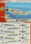 Messerschmitt Bf-109 G-6 Trop , AZ Model, 1/72,