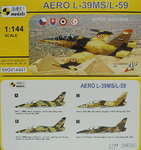 AERO L-39MS/L-59 Super Albatros, 1/144, Mark I