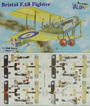 Bristol F.2B Fighter  , Double Set, 1/144, Valom
