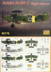 Arado Ar-66 C Night Attacker, RS Models, 1/72