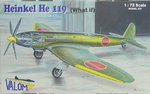 Heinkel He-119 What If, 1/72, Valom