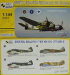 Bristol Beaufighter Mk.VIC (ITF)/ TF Mk.X, Torpedo Fighter,1/144, Mark I