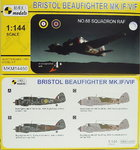 Bristol Beaufighter Mk.IF/VIF, No.68 Squadron RAF,1/144, Mark I