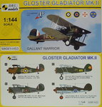 Gloster Gladiator Mk.II,Gallant Fighter,1/144, Mark I