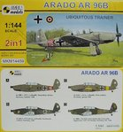 Arado Ar-96 B, Ubiquitous Trainer,1/144, Mark I, Double Kit