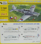 Avia/Letov C-2/Arado Ar-96 B,1/144, Mark I, Double Kit