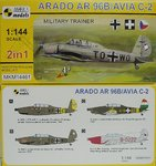 Arado Ar-96 B/ Avia C-2, Military Trainer,1/144, Mark I, Double Kit