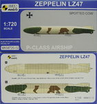 Zeppelin LZ-47, Spotted Cow,1/720, Mark I,