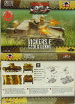 Light Tank Vickers E twin turret, First To Fight, 1/72