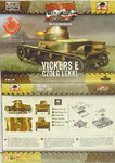 Light Tank Vickers E single turret, First To Fight, 1/72