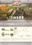 7,5 cm le.IG 18 with crew ,First To Fight, 1/72,