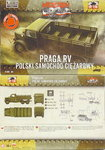 Military Truck Praga RV ,First To Fight, 1/72