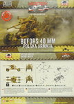 40 mm AA Gun ,First To Fight, 1/72,
