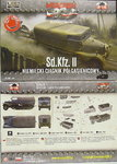 Light Artillery Tractor 3 t Sd.Kfz.11, First To Fight, 1/72