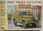 Off Road Car GAZ-69, 1/87, SDV