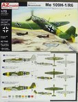 Messerschmitt Me-109 H1/R-6 , 1/72, AZ-Model
