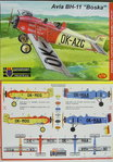 "Avia BH-11 ""Boska"" Double Seater Civil, KP, 1/72"