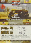 Polish Artillery Traktor C4P open ,First To Fight, 1/72