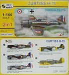 Curtiss H-75,International, 1/144, Mark I, 2in1