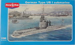 German Type UB-1 submarine, 1/144, Mikro Mir