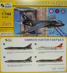 Hawker Hunter F.6A/FGA.9, Elegant Fighter, 1/144, 2 in 1, Mark I
