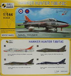 Hawker Hunter T.8B/ T.8C, Naval Trainer, 1/144, 2 in 1, Mark I