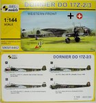 Dornier Do-17 Z-2/3 , Western Front, 1/144, Mark I.Models
