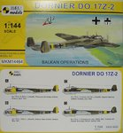 Dornier Do-17 Z-2 , Balkan Operations, 1/144, Mark I.Models